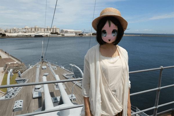 france japon masque papier manga