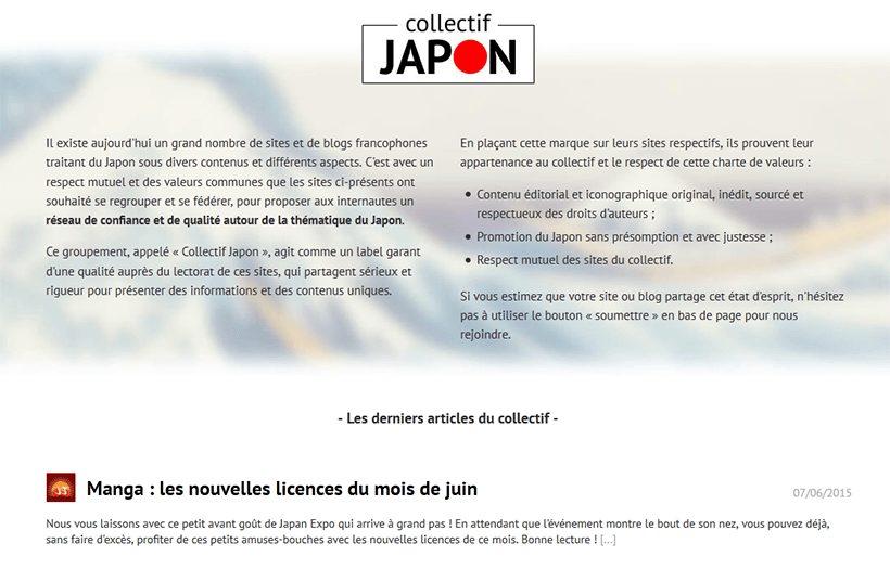 france japon rejoint collectif japon