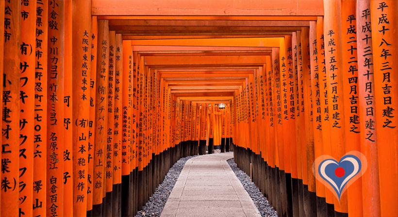 france japon visiter kyoto Le temple Fushimi Inari