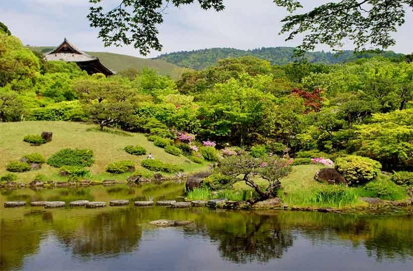 Japon : visiter l Isuien Garden (依水園) à Nara