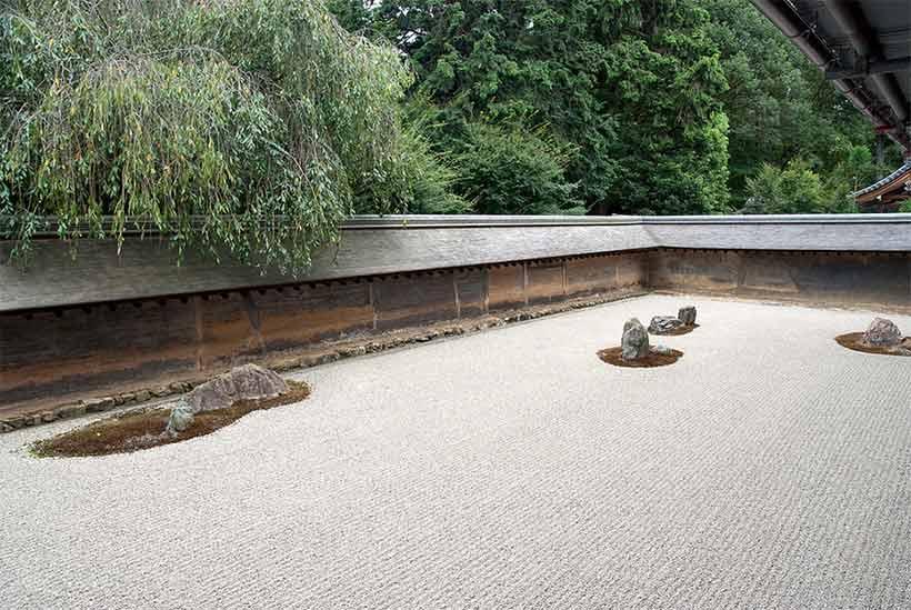 france japon visiter Ryoanji kyoto