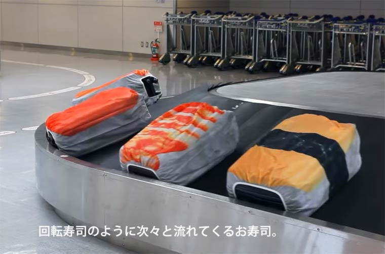 valise sushi insolite japon