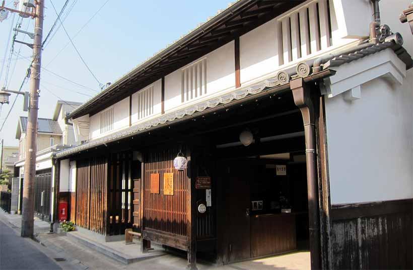 france japon visiter le quartier naramachi nara Koshi no IeResidence Naramachi Lattic House